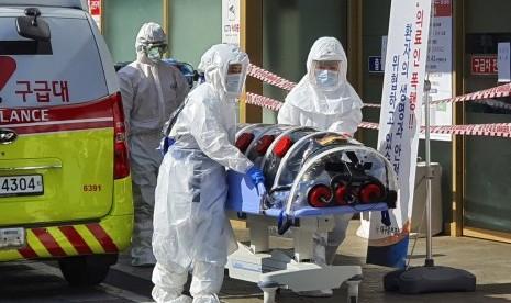 Virus Corona Kembali Renggut Jiwa di Korsel, Terinfeksi 346 Orang, Terbanyak di Luar China
