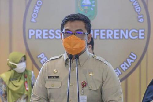 Penyaluran Bankeu Khusus Covid-19 Pemprov Riau ke Kabupaten dan Kota akan Dievaluasi