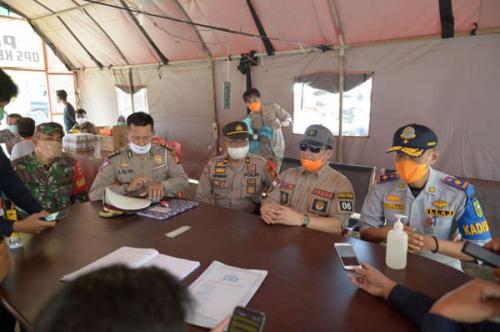 Awasi PSBB, Tim GTP Covid-19 Riau Tinjau di Perbatasan Provinsi