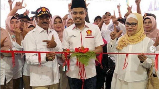 Keponakan Mantan Bendum Demokrat Nazaruddin Jabat Ketua DPC Gerindra Pekanbaru