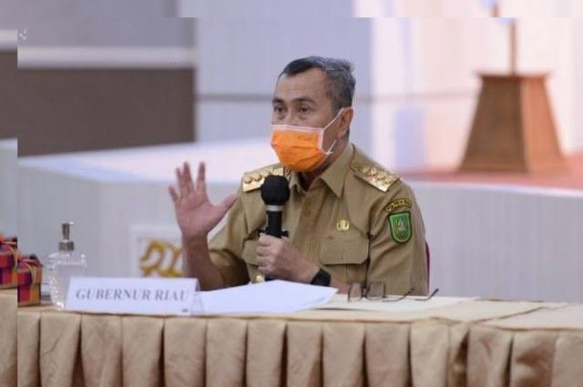 Semua Daerah Butuh Vaksin, Gubri: Riau Dapat Tambahan 41.600 Dosis Vaksin Sinovac