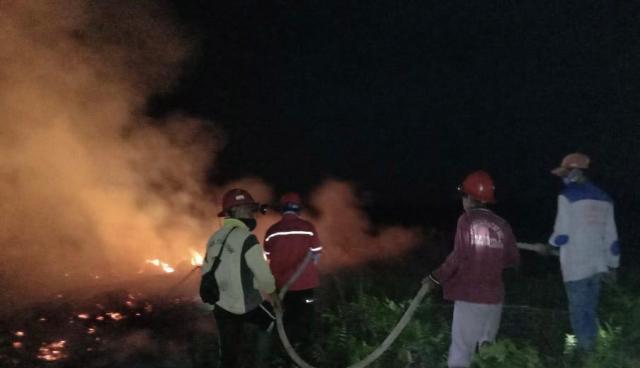 Kawasan Suaka Margasatwa Giam Siak Kecil Terbakar