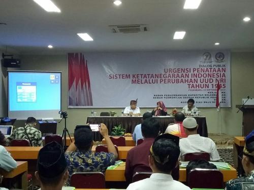 Senator Riau Ungkap Urgensi Penataan Sistem Ketatanegaraan di Indonesia