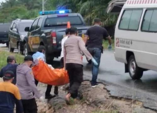 Polisi Belum Temukan Identitas Pria yang Tewas Dalam Keadaan Tangan Diikat dan Mulut Disumpel Kain di Siak