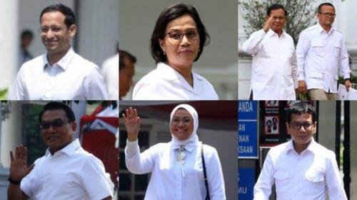 Ini Prakiraan Susunan Kabinet Jokowi-Maruf Amin