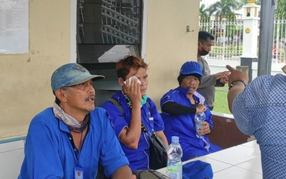 Perjuangkan Hak Buruh, Lepot: Kalau Pensiun Usia 60 Tahun, Itu Tinggal Nunggu Meninggal Aja
