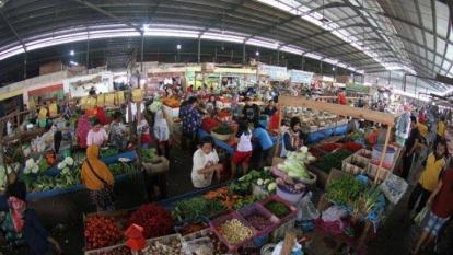 Hampir Setengah Kapasitas dari 8 Pasar Tradisional di Pekanbaru Kosong