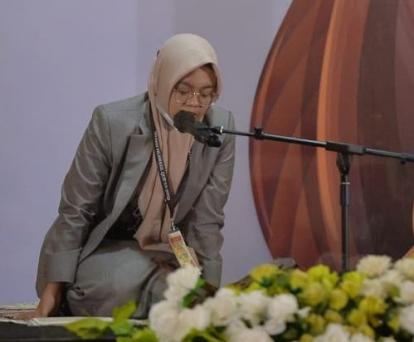 Satu Santri Pondok Tahfidz Nurul Quran Pangkalan Kerinci Wakili Riau di STQ Nasional