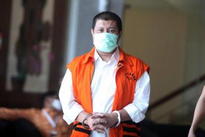 Mantan Bupati Bengkalis Amril Mukminin Dieksekusi ke Rutan Kelas I Pekanbaru