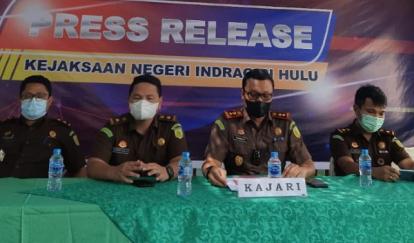 Diduga Korupsi APBDes Rp 410 Juta, Oknum Kades di Inhu Ditahan Jaksa