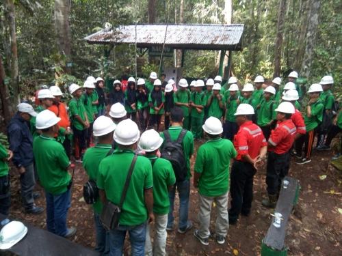 Siswa di Kuansing Belajar Pengelolaan Lingkungan di RAPP Estate Cerenti