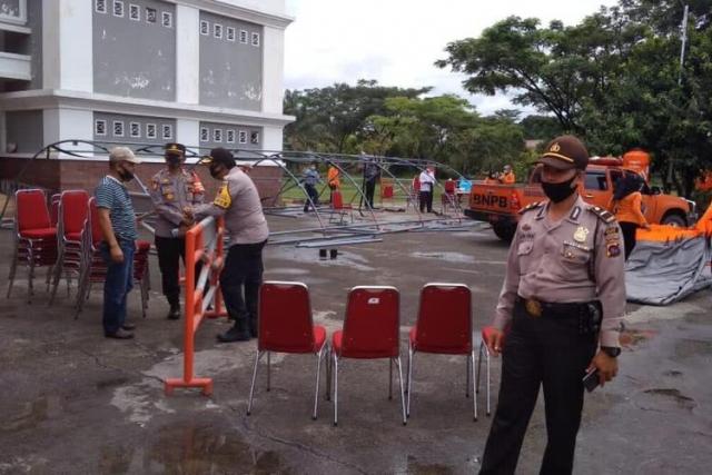 Polisi Bubarkan Pesta Pernikahan Anak Kepala BPBD Limapuluh Kota