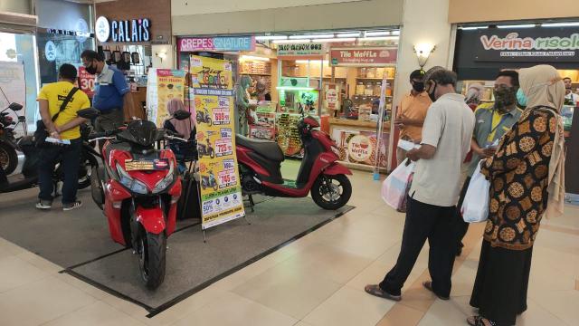 Hari Ini Terakhir, Yuk Kunjungi Pameran Unit Yamaha di Mall Pekanbaru, Banyak Promo dan Diskon Lho