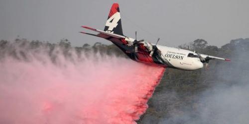 Pesawat Hercules Jatuh Saat Padamkan Kebakaran Hutan di Australia