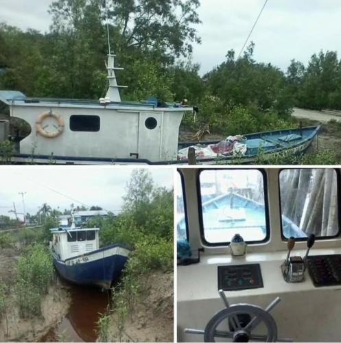 Di Rangsang Kepulauan Meranti, Kapal Nelayan Bantuan Kementerian Disewakan untuk Mancing
