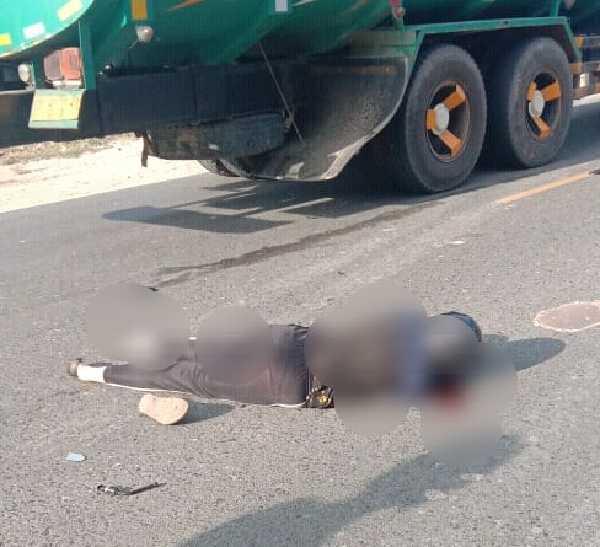 Jadi Korban Tabrak Lari, Seorang Wanita Muda di Pekanbaru Tewas Setelah Dilindas Mobil Damkar