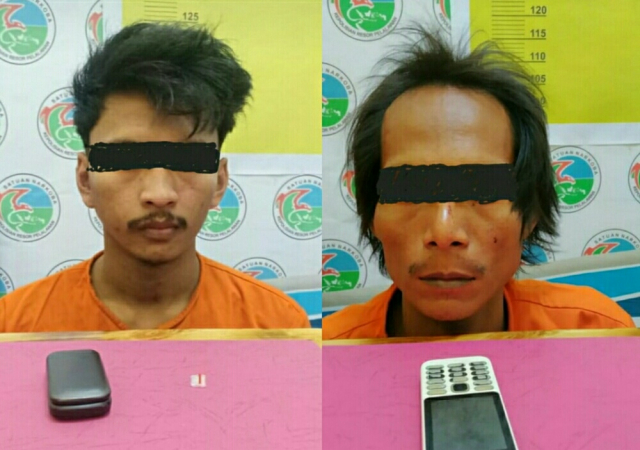 Polisi Tangkap Dua Pelaku Pengedar Sabu di Pangkalan Kuras