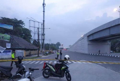 Malam Takbiran, Polresta Pekanbaru Tutup Tiga Jalan Protokol