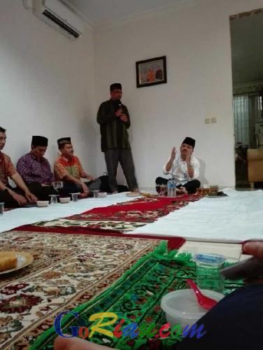 Meski Sederhana, Seluruh Pegawai Badan Penghubung Riau Bersuka Cita Saat Berbuka Bersama
