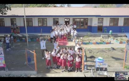 Peringati Hari Anak Nasional, BRI Renovasi Sekolah di Wilayah Tapal Batas Indonesia