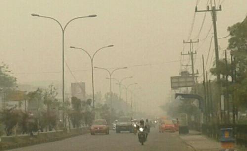 Diserbu Kabut Asap, Pemko Padangpanjang Liburkan Sekolah 2 Hari