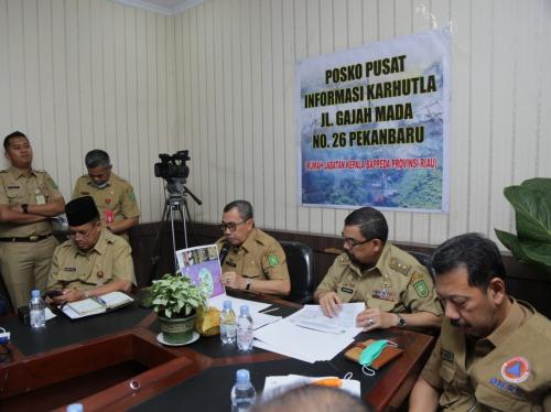 Status Keadaan Darurat Pencemaran Udara di Riau Berakhir 30 September