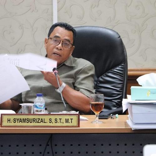 Resmi, Zulkifli Hasan Tunjuk Syamsurizal Gantikan Syahril Topan Pimpin PAN Rokan Hulu