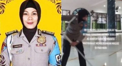 Wafat Ditabrak Wakil Bupati, Polwan Bripka Christin Ternyata Mualaf yang Rajin Bersihkan Masjid