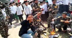 Ketua Harian MUI: Yang Dibakar Banser Itu Kalimat Tauhid, Bukan Bendera HTI