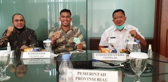 Setelah SPR, Pemprov Riau Tetapkan Jonli Komut dan Adel Gunawan Jabat Dirut PT PIR