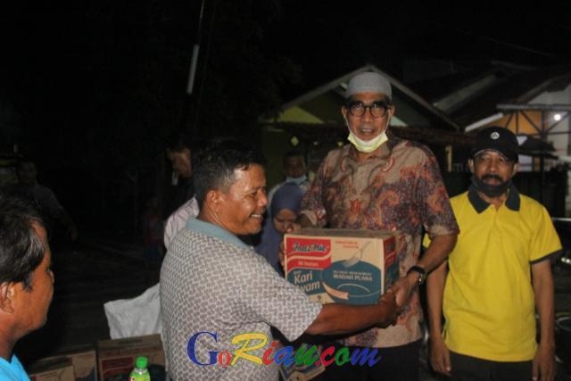 Kunjungi Lokasi Banjir di Pekanbaru, Iwan Fatah: Mestinya Wali Kota Bisa Merasakan Penderitaan Masyarakat