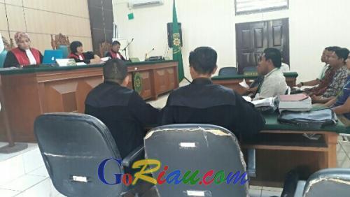 Kasus Pidana Pemilu Ketua PPK Pangkalan Kuras Mulai Disidangkan PN Pelalawan