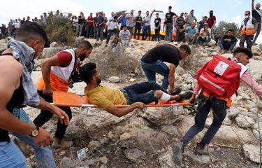Bentrok dengan Tentara Israel, 146 Warga Palestina Luka-luka