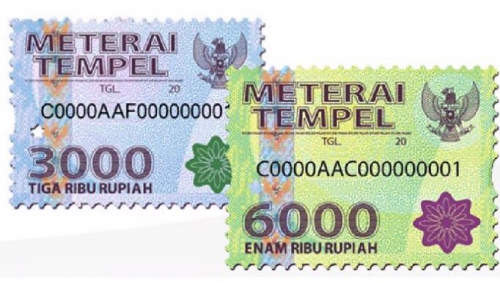 Materai Rp3.000 dan Rp6.000 Bakal Dihapus, Diganti Rp10.000