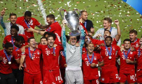 Bayern Muenchen Boyong Trofi Liga Champions 2019/2020