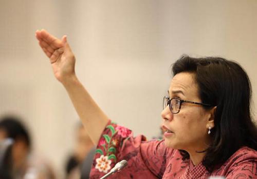 Harga Saham Paling Parah, Sri Mulyani Berharap Demonstran tak Ciderai Stabilitas Ekonomi