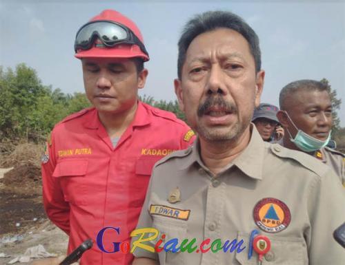 Cuaca di Riau Semakin Membaik, Kepala BPBD Riau: Alhamdulillah Langit Riau Sudah Biru