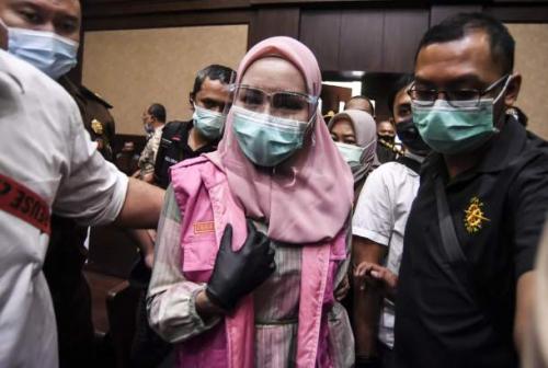 Sidang Perdana Jaksa Pinangki, Nama Burhanuddin dan Hatta Ali Muncul dalam Dakwaan
