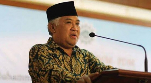 Din: Tak Ada Kerukunan di Indonesia Bila Umat Islam Tidak Toleran