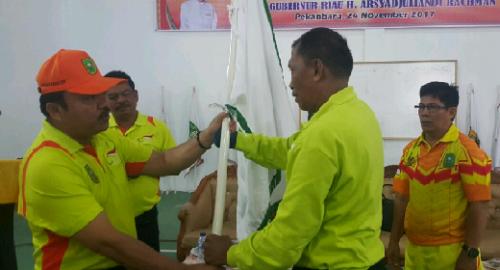 35 Atlet Riau Siap Memberikan Hasil Terbaik pada Kejurnas NPC 2017 di Bandung