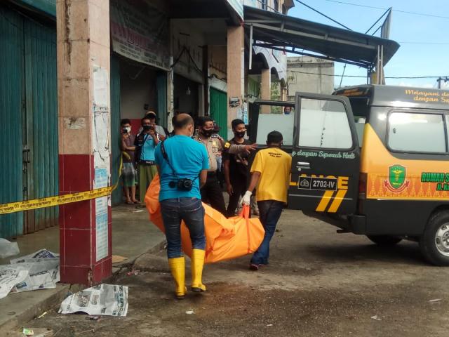 Mr X yang Datang dari Belilas Ditemukan Tewas di Jalan SM Amin Pekanbaru