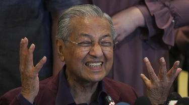 Raja Malaysia Minta Mahathir Jabat PM Sementara, Maksimal 10 Hari