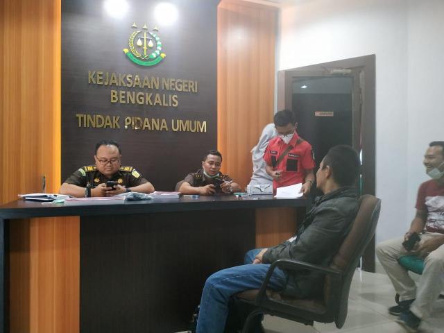 BNN Limpahkan Kasus Sabu 52 Kilogram ke Kejari Bengkalis
