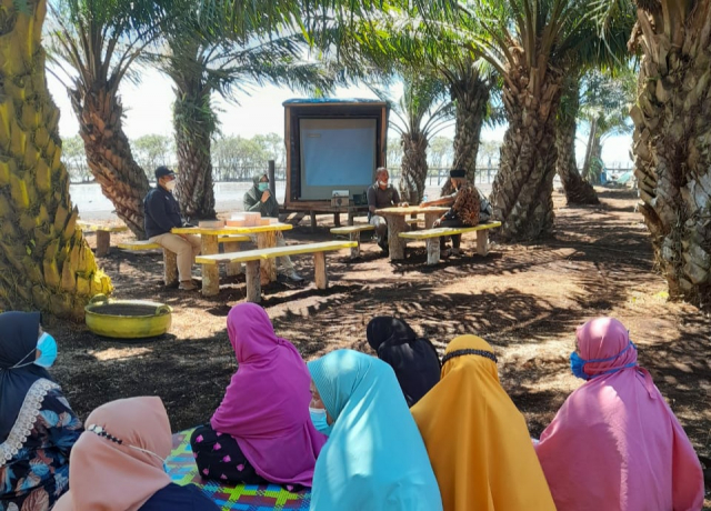 Penguatan Literasi Kebijakan Perubahan Iklim Masyarakat Pulau Bengkalis