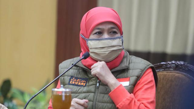 Gubernur Jatim Khofifah Kembali Terinfeksi Virus Corona