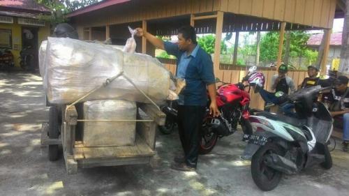 Berkedok Bakso Ikan, Pengusaha di Meranti Bawa Daging Itik Ilegal dari Malaysia