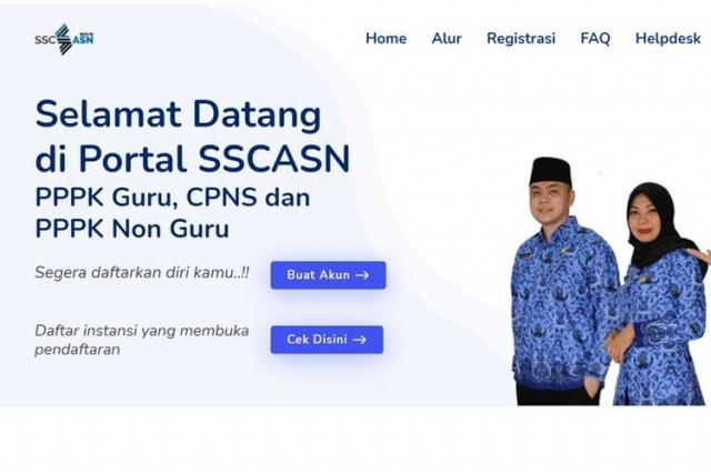 Besok Hari Terakhir, Jangan Lupa Daftar CPNS 2021 di sscasn.bkn.go.id