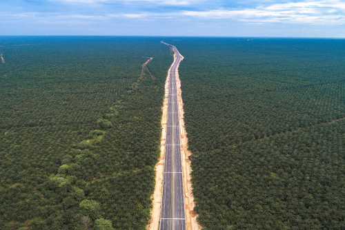 Pembangunan Tol Pekanbaru-Dumai Telan Biaya Rp12,18 Triliun