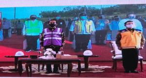 Pertama di Riau, Tol Pekanbaru-Dumai Akhirnya Diresmikan Jokowi secara Virtual dari Istana Bogor