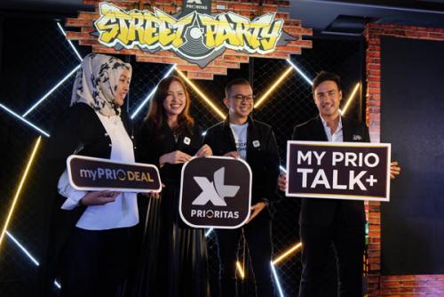 XL PRIORITAS Luncurkan Paket myPRIO Talk+